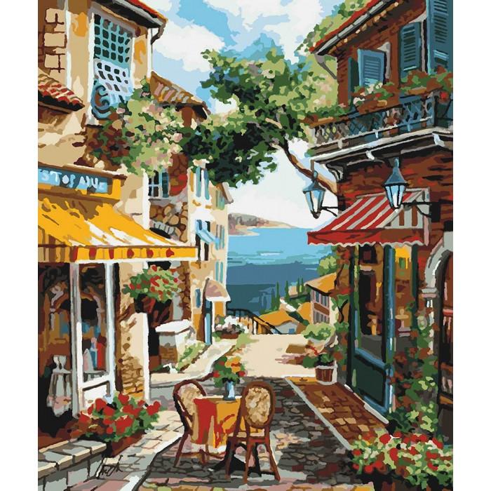Картина по номерам Идейка - Столик на двоих 40x50 см (КНО2197)