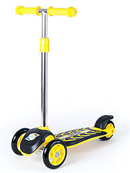 Самокат Орион Желтый старая ручка (164 yellow)