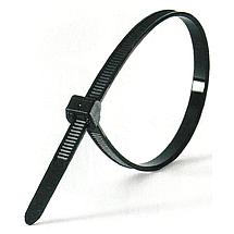 Кабельная стяжка 400х5 усиленная черная, фото 3