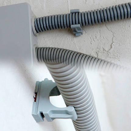 Крепёж для труб Ø 40мм серый, фото 2