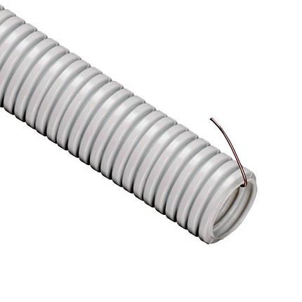 Труба гофрированная ПВХ НГ Ø 16мм, фото 2