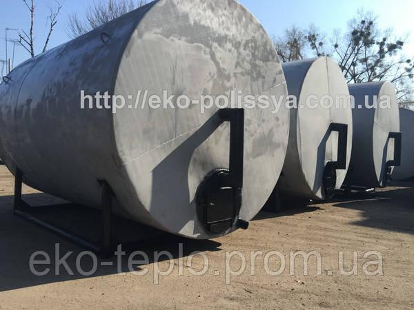 Печи пиролизные для пролизводства древесного угля 25м3
