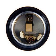 Патрон электрический Е27 косой карболит, фото 2