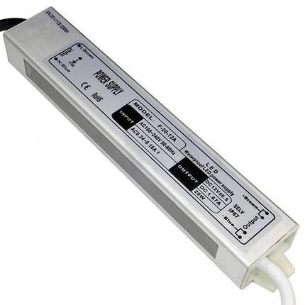 Блок питания BIOM FTR-20 20Вт 12В 1.66А Алюминий IP67 Стандарт, фото 2