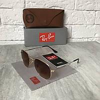 Солнцезащитные очки RAY BAN 6003 HEXAGONAL коричневый