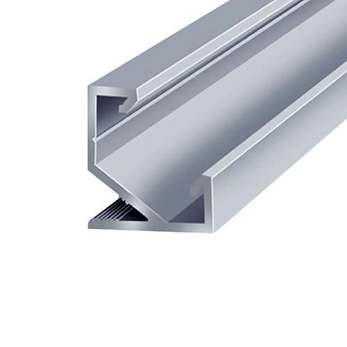 Профиль алюминиевый BIOM угловой ЛПУ-17 17х17 неанодированный