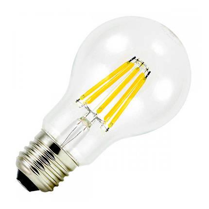 Филаментная лампа BIOM FL-311 8W E27 3000K А60 (Груша), фото 2