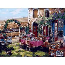 Картина по номерам Идейка - Жизнь в Провансе 40x50 см (КНО2245)