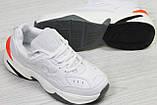 Кроссовки Nike  М2K Tekno   белые, 36-41 р, фото 4
