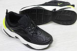 Кроссовки Nike  М2K Tekno  черные, 36-41 р, фото 2