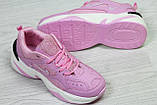 Кроссовки Nike  М2K Tekno  розовые, 36-41 р, фото 3