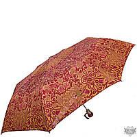 Прочный стильный оранжевый женский зонт полуавтомат AIRTON