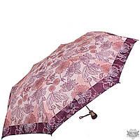 Надежный розовый женский зонт полуавтомат AIRTON