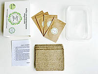 Набор для выращивания МИКРОЗЕЛЕНИ МИКС 4 урожая - Комплект 2 Набора, фото 1