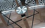 Стіл Імз скляний Ø 80 см (безкоштовна доставка), фото 7