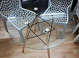 Стіл Імз скляний Ø 80 см (безкоштовна доставка), фото 9