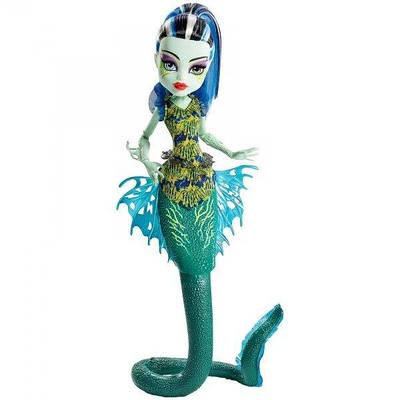 Лялька Monster High Френкі Штейн Великий Скарьерный Риф - Frankie Stein Great Scarrier Reef
