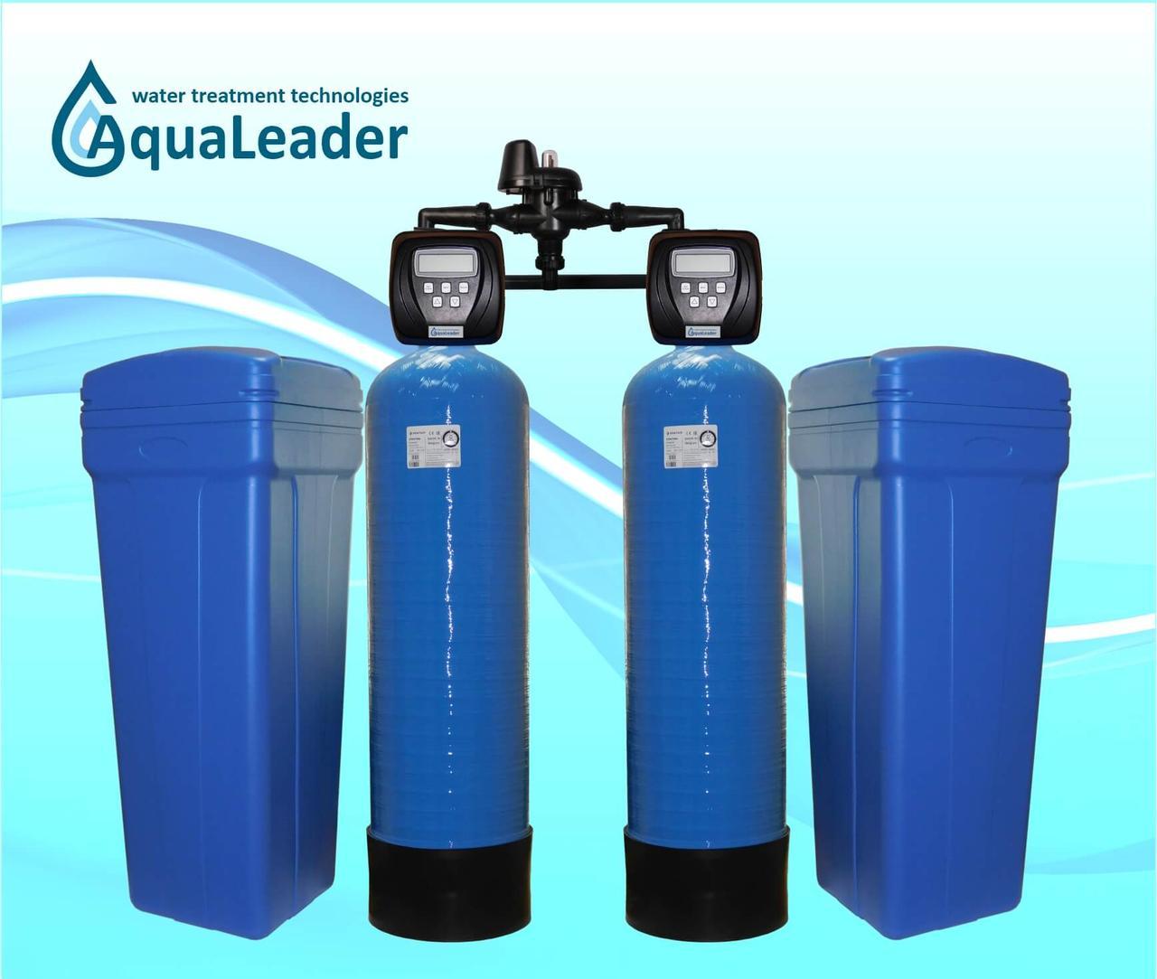 Фильтр для удаления солей жесткости из воды FS50 TWIN, Clack Corporation, USA