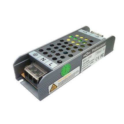 Блок питания BIOM BRU-100 100Вт 12В 8.3А Алюминий IP20 Премиум, фото 2