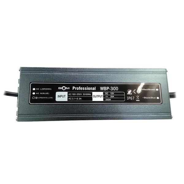 Блок питания BIOM WBP-150 150Вт 12В 12.5А Металл IP67 Премиум