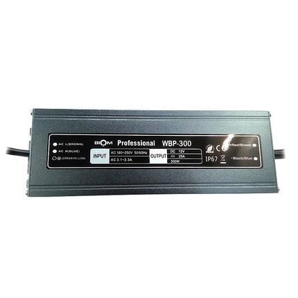 Блок питания BIOM WBP-150 150Вт 12В 12.5А Металл IP67 Премиум, фото 2