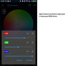 Контроллер BIOM 8А Wi-Fi + IR кнопочный 12В RGB+W, фото 3