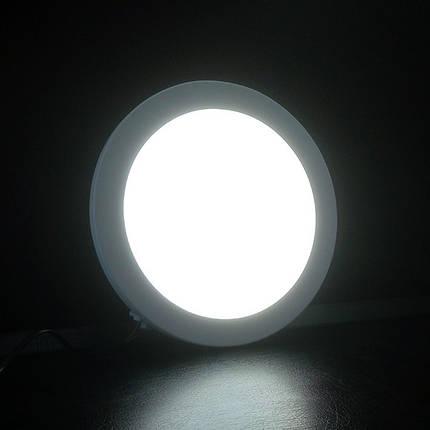 Светильник LED накладной BIOM SF-R18 18W круглый, фото 2