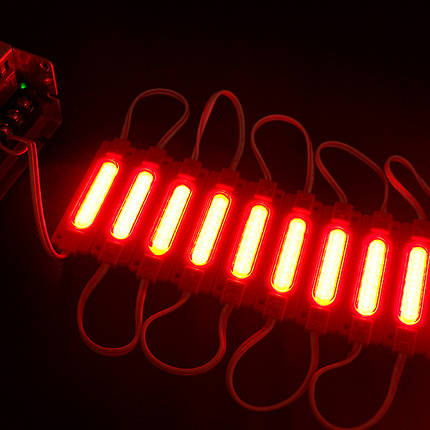 LED модуль PROlum СОВ-led 2Вт Красный 12В IP65 с линзой, фото 2