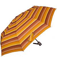 Зонт женский компактный автомат DOPPLER коричневый из полиэстера