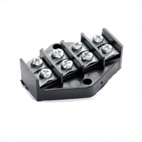 Клеммная колодка ZIPLEX 4х10мм2 Чёрная K.001