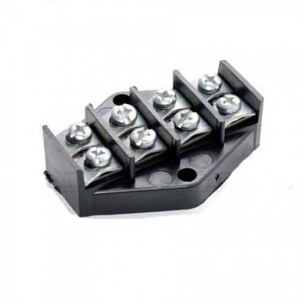 Клеммная колодка ZIPLEX 4х10мм2 Чёрная K.001, фото 2
