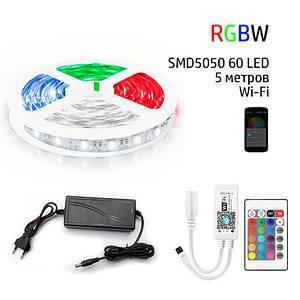 Набор 3в1 PROlum RGB+W LED 5 метров SMD5050-60 IP20 Wi-Fi+IR