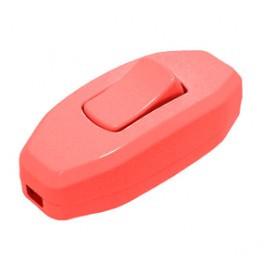 Выключатель для бра DE-PA 6А Красный
