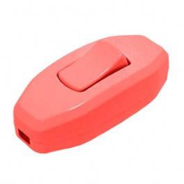 Выключатель для бра DE-PA 6А Красный, фото 2