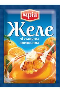 """Желе апельсиновое на желатине 90г ТМ """"Мрія"""""""