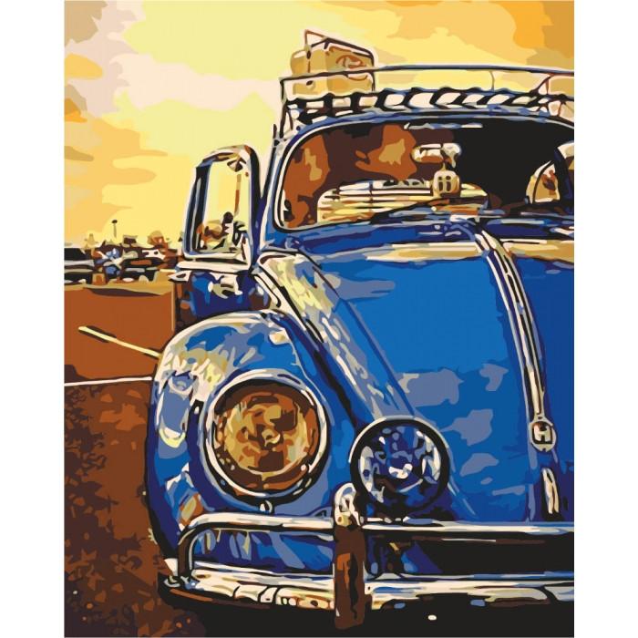 Картина по номерам Идейка - На закате солнца 40x50 см (КНО2507)