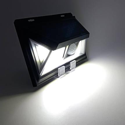 LED светильник на солнечной батарее VARGO 10W c датчиком, фото 2