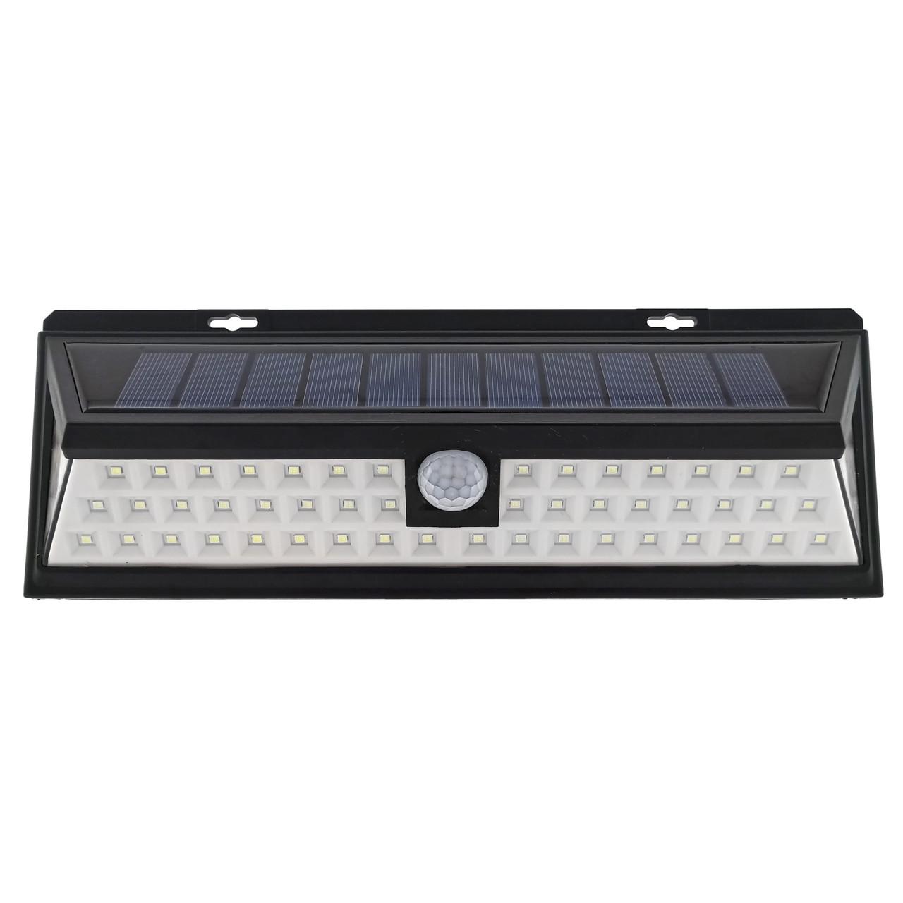 LED светильник на солнечной батарее VARGO 12W c датчиком