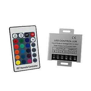 Контроллер PROlum 36А RF кнопочный 12В RGB
