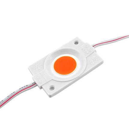 LED модуль PROlum СОВ-led 2.4Вт Красный 12В IP65 без линзы, фото 2