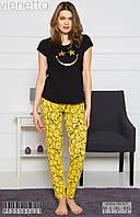 Пижама женская штаны+майка,L, XL, 2XL, Vienetta