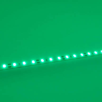 Светодиодная линейка BIOM SMD5630 12V 24W 72-LED 1м ЗЕЛЁНЫЙ, фото 2