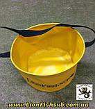 Складное Рыболовное Ведро LionFish.sub для Прикормки без крышки 8л., фото 5