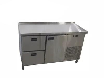 Холодильный стол 1 дверь + 2 ящика. (1400х700х850)