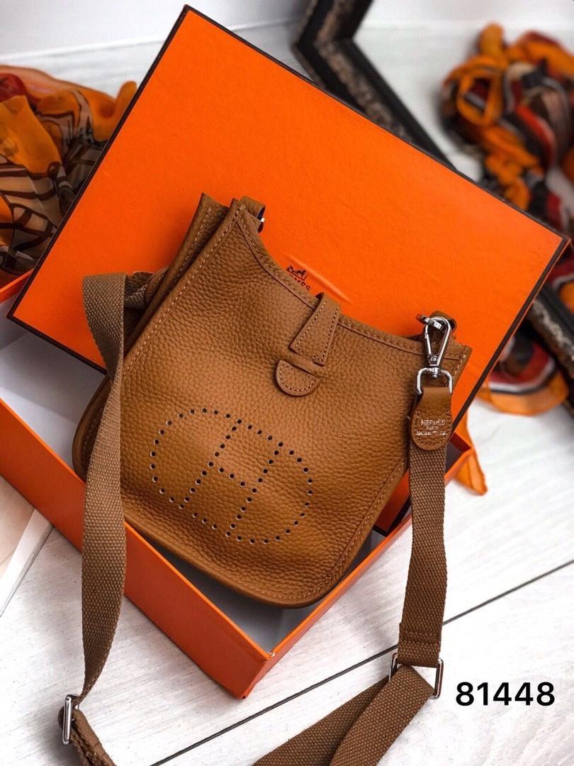 Сумка  в стиле  Hermès люкс кожа