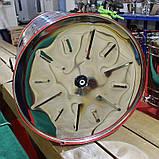 Медогонка 3-х рамочная нержавейка (Чарунка) с поворотными кассетами, фото 4