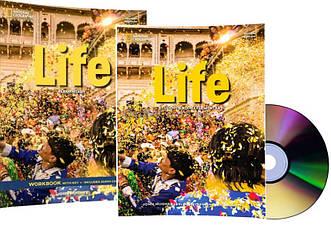 Английский язык /Life / Student's+Workbook+CD. Учебник+Тетрадь (комплект с диском), Elementary/NGL