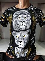 Чоловіча футболка з тигром Туреччина оптом L