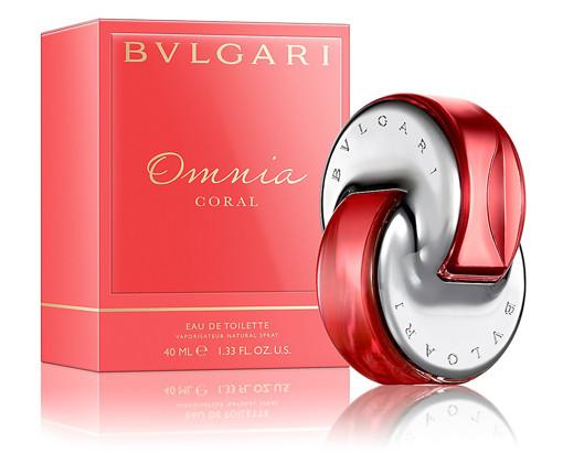 Парфюмерный концентрат Omega corail аромат «Omnia Coral» BVLGARI