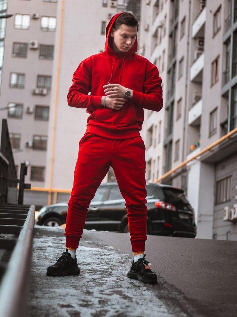 Спортивный комплект унисекс Jog Classic красный